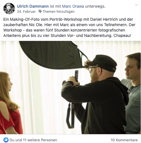 Daniel Hertrich Workshop Testimonial