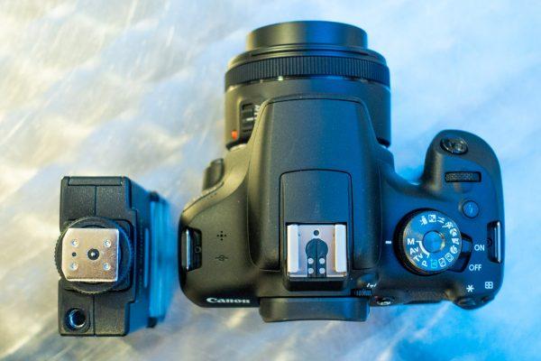 MOF#027 Externe Blitze für Canon-DSLR ohne Mittenkontakt (EOS 2000D, 4000D, 1500D, 250D...)